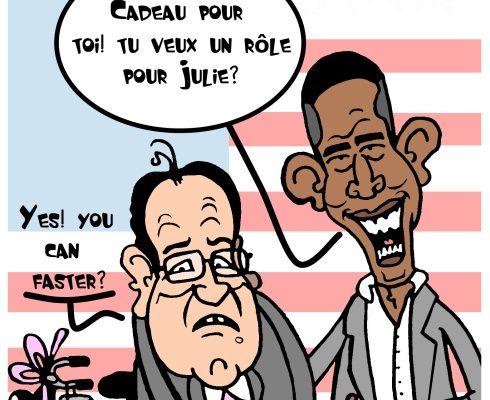 Hollande est connu aux Etats-Unis: