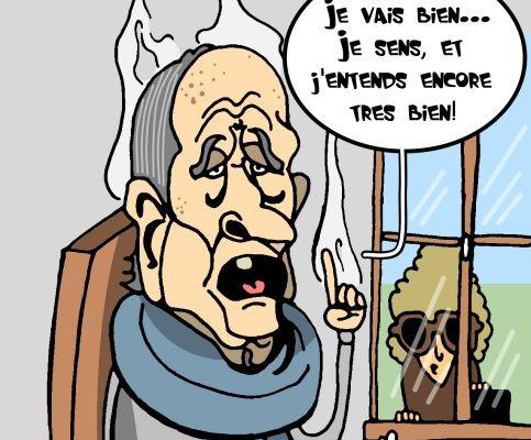 Chirac hospitalisé...