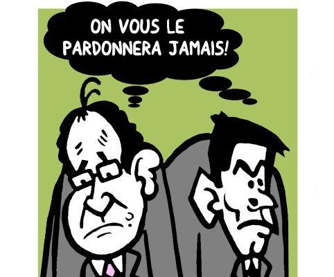 Nouvelle chute de popularité pour Hollande et Valls: