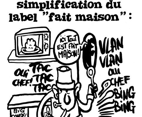 "Restauration: Simplification du label ""Fait maison""."