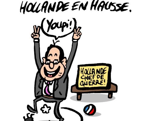 La popularité de Hollande en hausse: