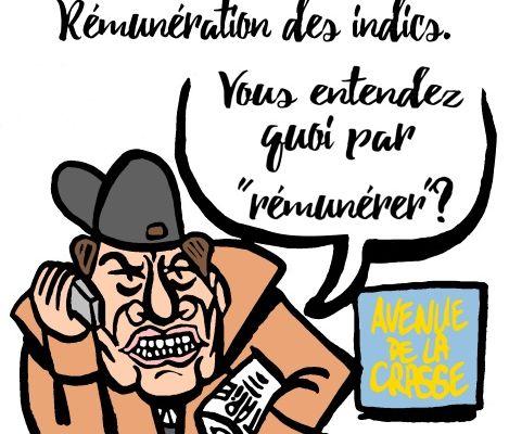 Fraude fiscale: Rémunération des indics.