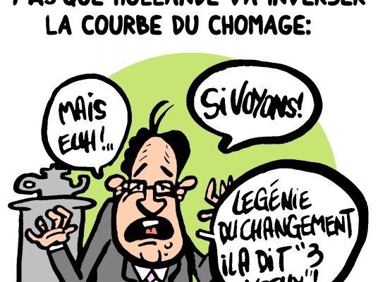 9 français sur 10 ne croient pas que Hollande va inverser la courbe du chômage: