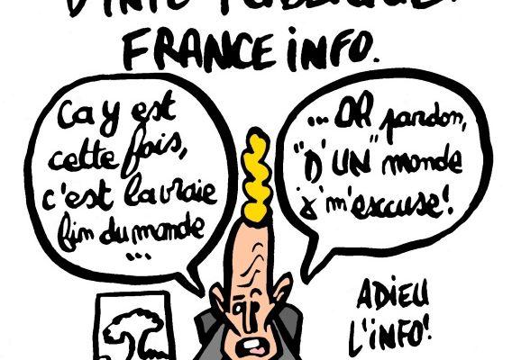 Une nouvelle chaîne d' info publique, France Info: