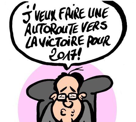 Hollande veut un nouveau plan d' investissement routier: