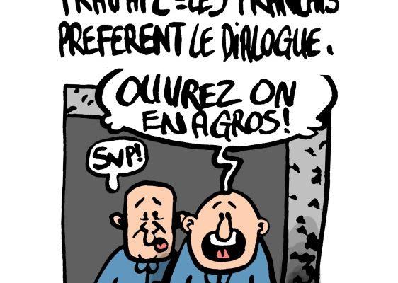 Réforme du code du travail, les français préfèrent le dialogue: