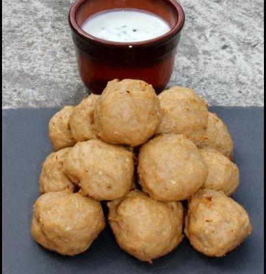 Boulettes de poulet tandoori