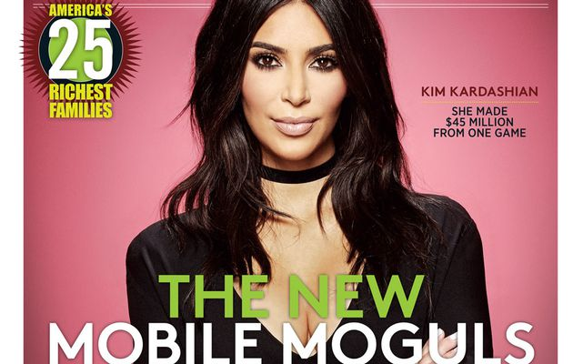 business woman kim GRACE A CES JEUX MOBILE A GAGNE EN 2016 45 MILLIONS£££££$$$$