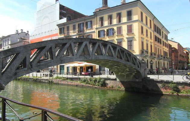 Navigli, le quartier des canaux de Milan