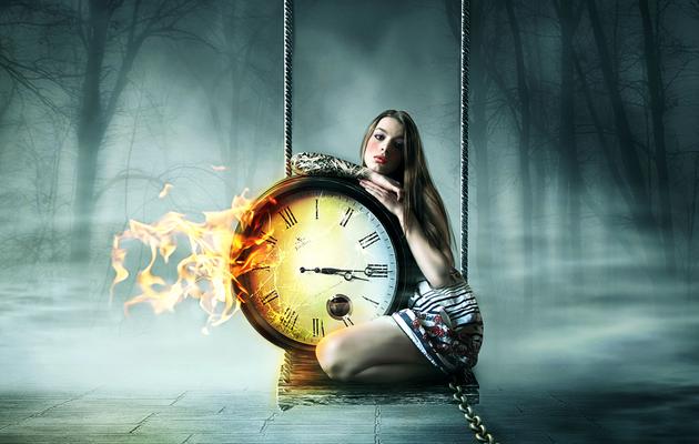 """Défi n°24  Thème """" le temps  """""""