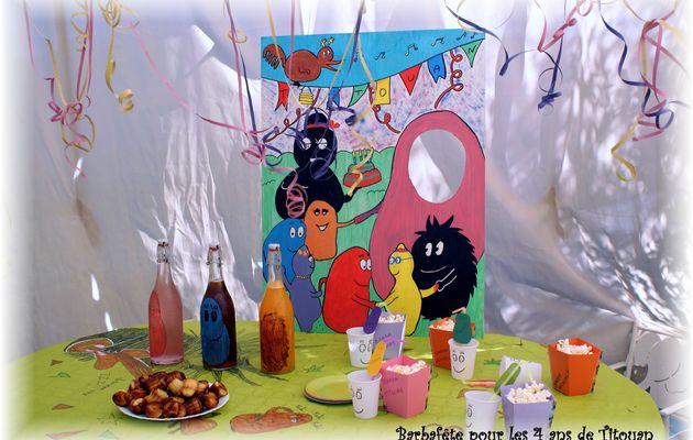 Table de fête barbap's