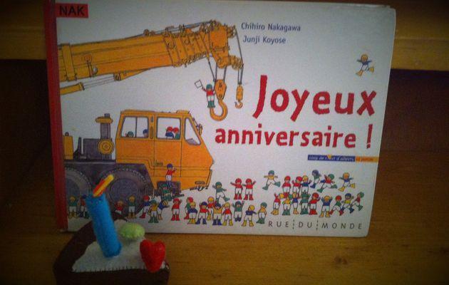 Chut les enfants lisent #45 - Joyeux anniversaire