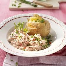 Pomme de terre garnie de thon à l'Italienne 5 Pp