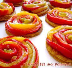 Tartelettes de poivron sans pâte 6 Pp