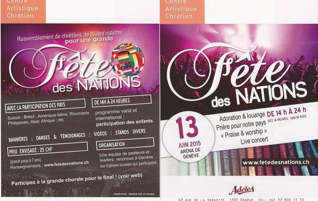 Fête des nations à Genève !