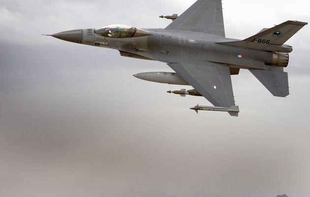 Les F-16AM néerlandais ont effectué leur dernière mission en Afghanistan