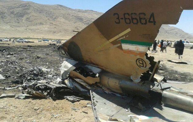 Un F-4 Phantom II s'écrase en Iran