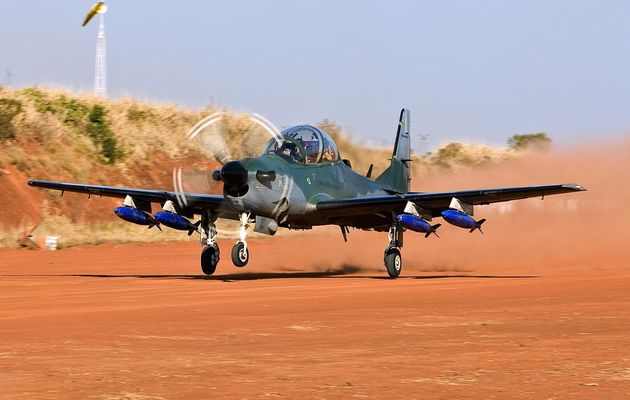 La Mali commande six A-29 Super Tucano