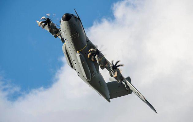 La Royal Air Force réceptionne son troisième A400M