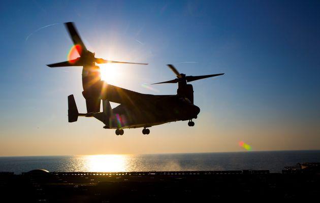 La nouvelle version CMV-22 Osprey remplacera les C-2A Greyhound de l'US Navy