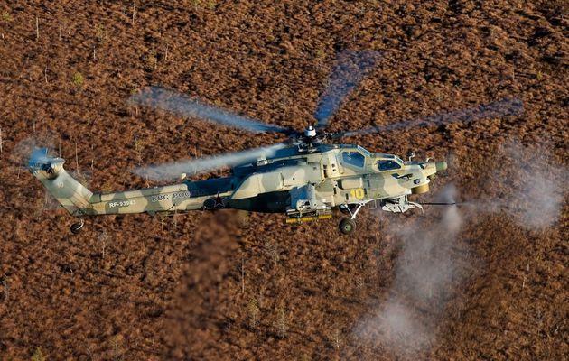 Un hélicoptère russe Mi-28N Night Hunter s'est écrasé en Syrie