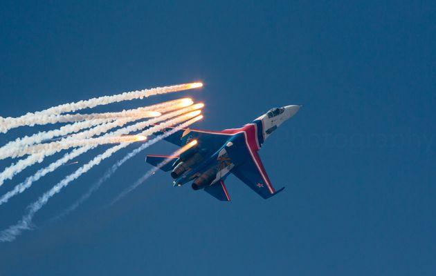 Un pilote des Russian Knights se tue dans le crash de son Su-27 Flanker