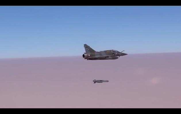 La force Chammal frappe une nouvelle fois en Syrie avec des missiles de croisière SCALP-EG