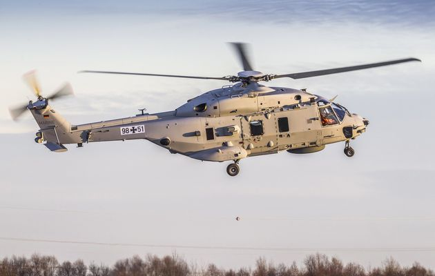 Le NH-90NFH Sea Lion destiné à la Marine Allemande a effectué son premier vol