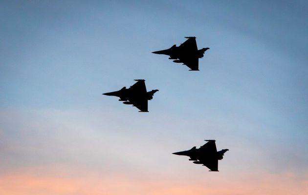 Chammal : Des Rafale frappent un centre de commandement avec des GBU-24