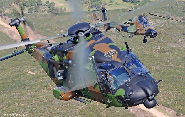 Un NH-90 Caïman et deux Tigre HAD arrivent dans l'Armée de terre