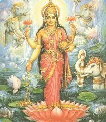 Lakshmi, la déesse de la prospérité et de la beauté