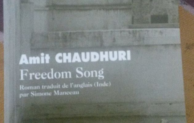 Freedom Song de Amit Chaudhuri