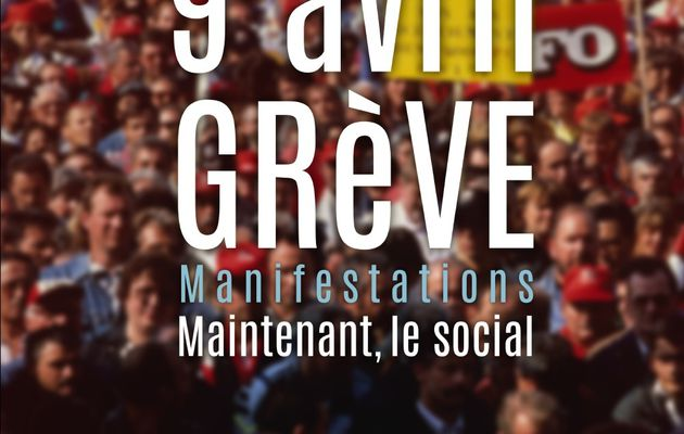 #greve9avril - Tract - Ça suffit ! 9 avril 2015