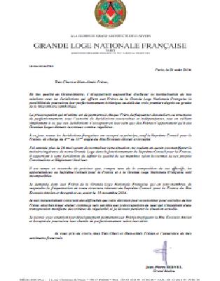 GLNF, Suprême Conseil & Co.