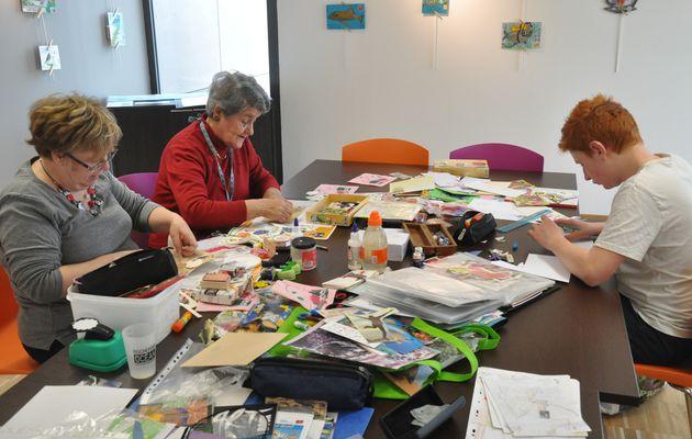 Atelier d'art postal et exposition à Saint-Agnant (17)