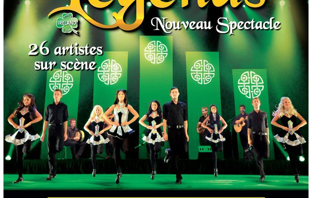 Un nouveau spectacle pour Celtic Legends en 2015