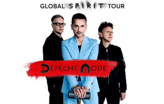Depeche Mode et son white Spirit