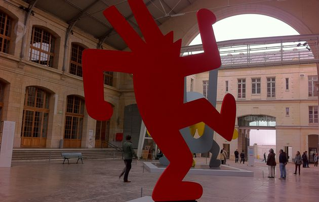 KEITH HARING - The Polital Line