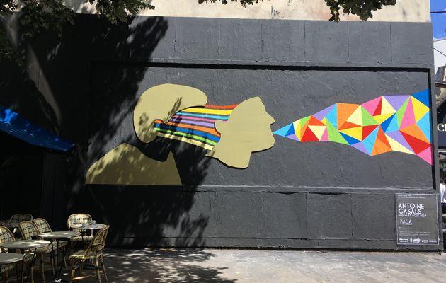 Performance 239 Le Mur d'Antoine Casals