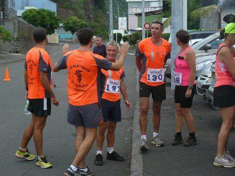 Championnat Polynésie de 10 km sur route dans la ZI de Punaruu