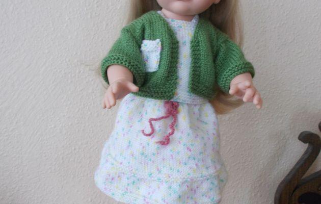 """Audrey et sa jolie tenue """"made in Céline"""""""