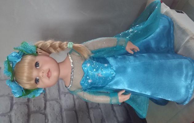 La Reine des Neiges pour Lily