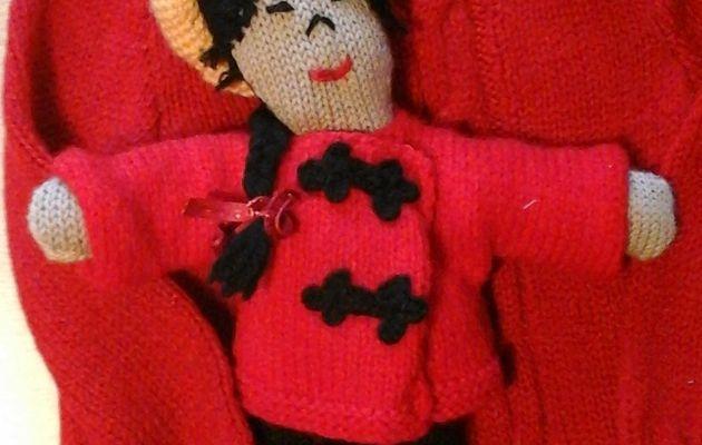 Pour tricoter la poupée....les explications
