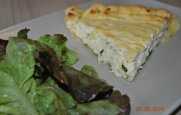 Tarte aux 3 fromages italiens