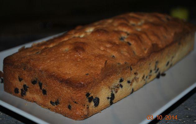 Cake aux pépites de chocolat!
