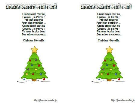 Grand sapin tout nu - Christian Merveille MS-GS-CP