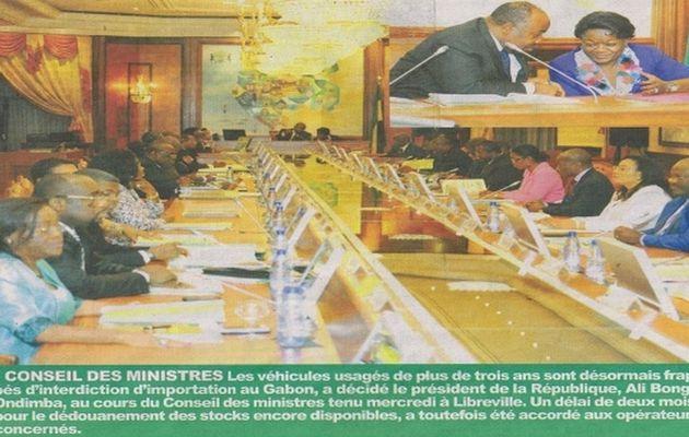 Communiqué Final du Conseil des Ministres du mercredi 18 Sept. 2013 + nominations ...