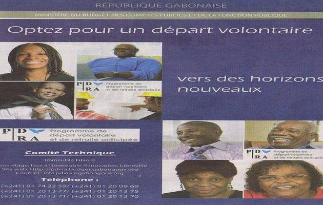 Fonction Publique : Lancement officiel des Départs Volontaires