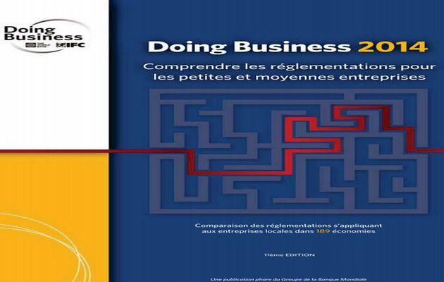 Doing business 2014 : Le Gabon remonte la pente et gagne 6 places