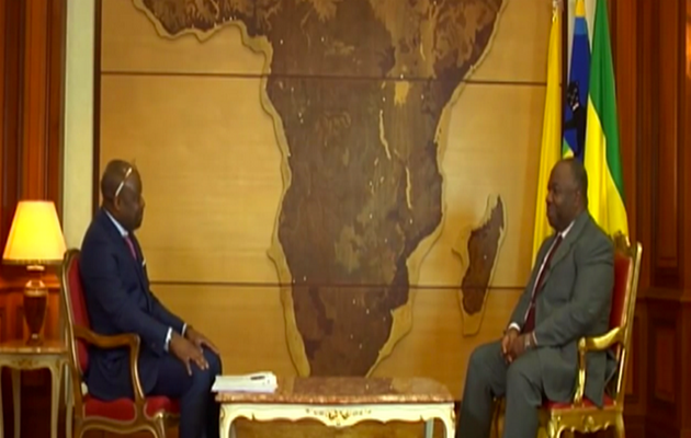 Interview du Président Ali Bongo Ondimba dans « Le débat africain » animé par Alain Foka.